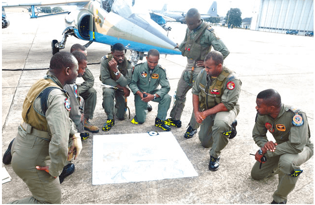 Nigerian Air-force Men