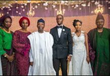 Amosun's Daughter Wedding
