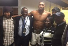 Nigeria Government delegates to Joshua v Takam fight