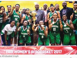 Nigeria female National Basketball team, D'Tigress