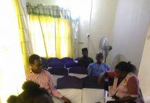 Attendees at first WordPress Ijebu Meetup
