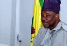 Amosun on 2018 Appropriation Bill