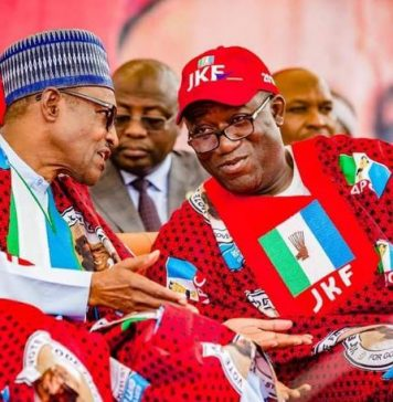 Buhari and Kayode Fayemi